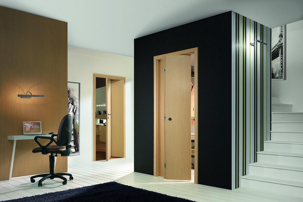 складные двери ALFA и BETA в интерьере