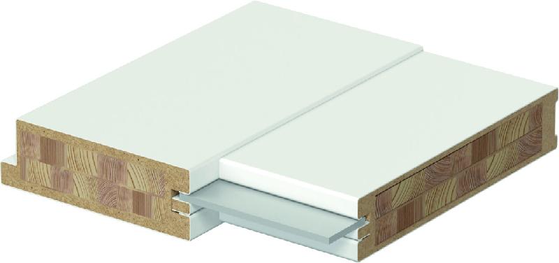 Специальная многослойная деревянная конструкция двери Porta