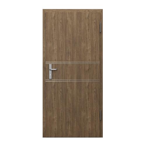 Двери звукоизоляционные INNOVO Rw=37дБ модель 4, цвет орех матовый