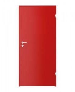 Двери CPL нестандартного цвета красный RAL 3016, NCS S 2070, CPL модель 1.1