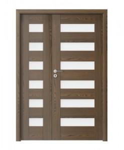 Двустворчатая дверь Porta KONCEPT C.6, нестандартное исполнение