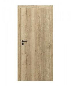 Двери компланарные Porta Resist модель 1.1, вертикальный рисунок ламината