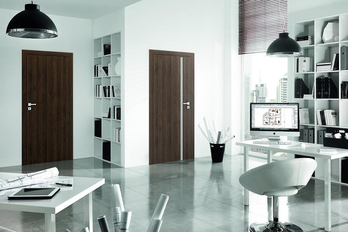 Двери для офиса и дома Porta Resist модель 1.1 и 4.А