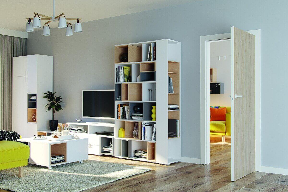 Новая коллекция компланарных дверей Porta Loft с белой коробкой для дома и офиса