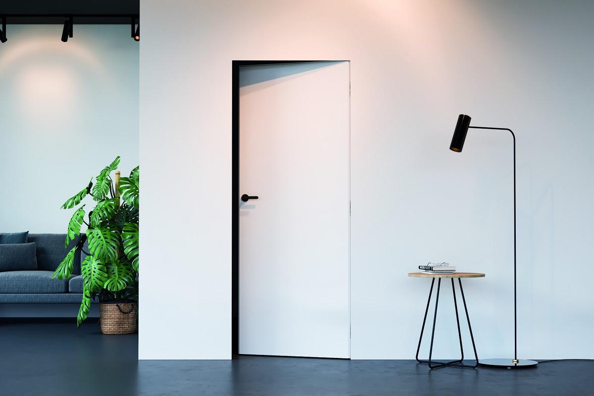 Скрытые двери Porta Hide модель 1.1 окрашенная, открывание вовнутрь
