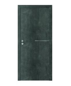 Двери в стиле Loft в цвете бетон модель Line модель G.1, ламинат CPL
