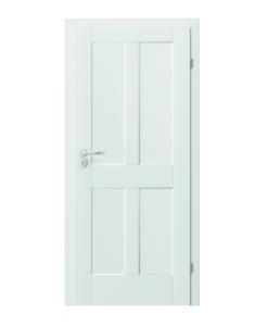 Белые двери Skandia Premium модель B.0 в Запорожье