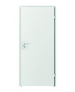 белая дверь Verte Basic глухая гладкая