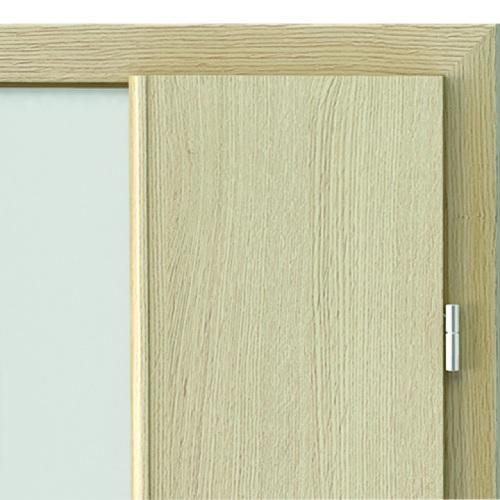 Двери с четвертью с открытыми петлями