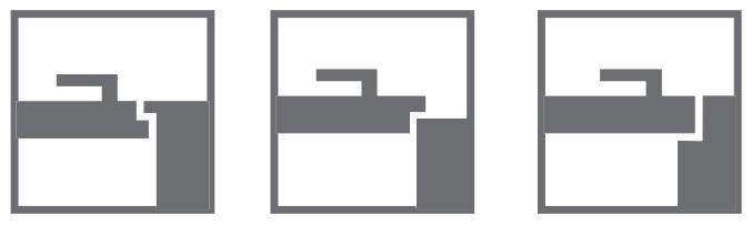 Виды дверей: с обратной четвертью, с четвертью, без четверти со скрытыми петлями