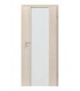 Двери межкомнатные ламинированные Focus модель 4.B стекло матовое вертикальное