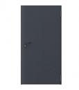 Дверь противопожарная металлическая EI60 глухая, цвет антрацит RAL 7024