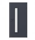 Дверь противопожарная металлическая EI60 модель 3, цвет антрацит RAL 7024