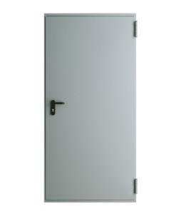 Противопожарная дверь металлическая EI30, EI60 глухая, RAL 7047