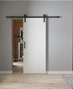 Раздвижная система Black для межкомнатных дверей Porta