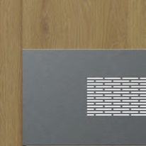 нержавеющая панель для двери нижняя вентиляционная