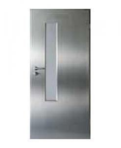 дверь нержавеющая из кислотостойкой стали Metal Solid модель 3