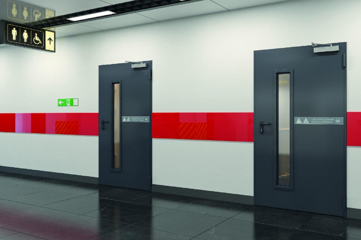 Открывание двери правая или левая - Технические двери PORTA