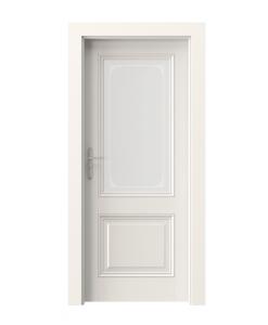 Дверь межкомнатные белая в классическом стиле шпонированная Villadora Retro Capital 1
